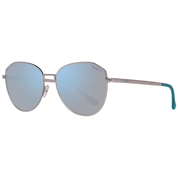 Pepe Jeans PJ5137C455 Gafas de sol, Silver, 55 para Mujer