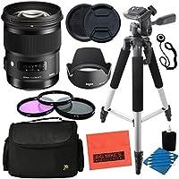 Sigma 50mm F1.4 DG HSM Art Lens for Nikon DSLR Cameras - Advanced Kit