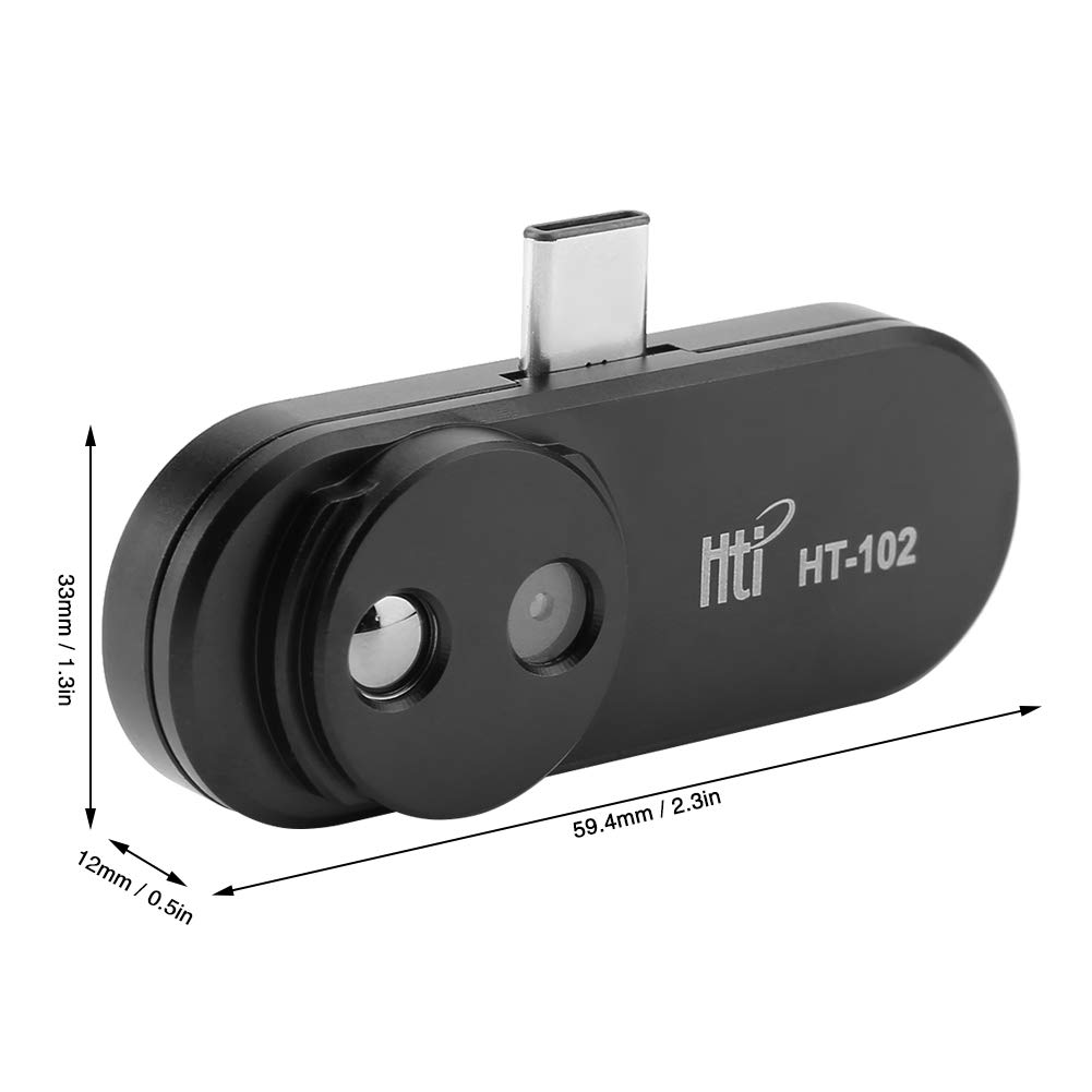 HT-102 USB Thermal Infrared Imager Mobile Phone Thermal Infrared Imager for Android Phone Type C Thermal Imager for Android