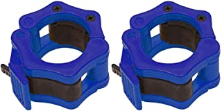 Sunronal 2 Inch Barbell Clamps Schnellspanner Hantelschaft Kunststoffclip für Cross Fitness Training