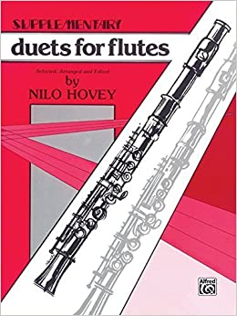 Supplementary Duets for Flutes by Nilo W. Hovey (1985-03-01)