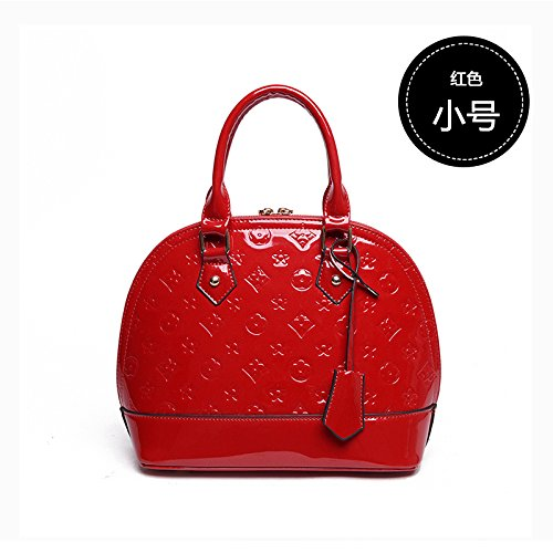 Bingbing The Street Trumpet Shell With Defeat To Pattern Bride Lacquer Great The Fan Bag Bag Wine Shell Cjshop Red Set Red Women Zx15nX