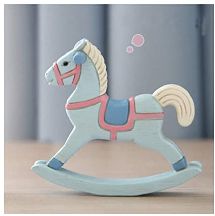Cavallo A Dondolo Artigianale.Alileo Cavallo A Dondolo Figurine Artigianali Fatti A Mano