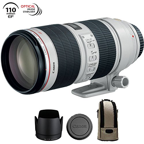 Canon EF 70-200mm f/2.8L IS II USM Telephoto Zoom Lens EOS DSLR Cameras – 2751B002 (Certified Refurbished)