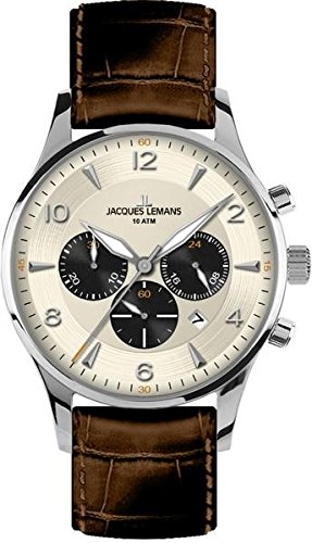 Jacques Lemans London Mens Chronograph Classic & Simple