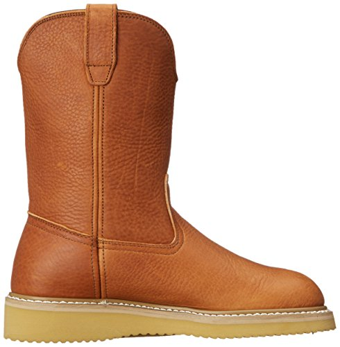 Georgia Boot Men's 12'' Wedge Wellington Work Boot,Barracuda Gold,8.5 W by Georgia (Image #7)