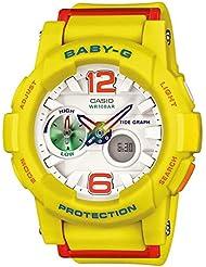 Casio Baby-G G-lide Beach Fashion Series White Dial Ladies Watch BGA180-9B