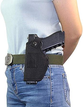 NO LOGO L-Yune, Oxford Funda de Pistola Glock Bolsa Golck 17 19 Beretta M9 cinturón Universal M92F Sig HK USP Funda Caso for el Clip Izquierda Derecha adjustble