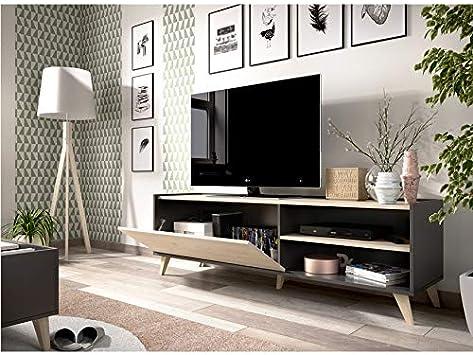 HABITMOBEL Mueble Bajo TV Colombia: Amazon.es: Hogar