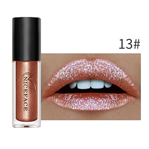 Baomabao Sexy Long Lasting Waterproof Liquid Lipstick Cosmetic Beauty Makeup Lip print Lip Gloss Kit Lip line Lip gloss Lip glaze (A)