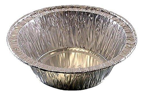 4 inch Aluminum Foil Pot Pie Pan 1.4 inch Deep Disposable Baking Tart Tins
