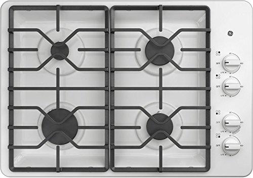 gas cooktop 30 white - 2