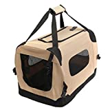 Favorite Top Load Soft Portable Car Travel Vet Visit Pet Dog Cat Carrier