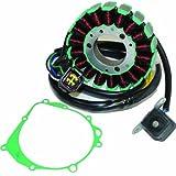 #6: Caltric STATOR & GASKET Fits SUZUKI DR-Z400 DRZ400 DR-Z400E DRZ400E DR-Z400S DRZ400S 2000-2009 2011-2012