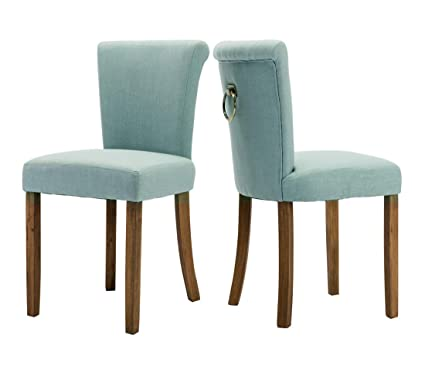 Image Unavailable. Image Not Available For. Color: Fabric Dining Room Chairs,  Upholstered ...