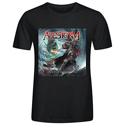 alestorm-back-through-time-adult-men-short-sleeve-black