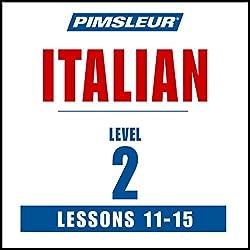 Italian Level 2 Lessons 11-15