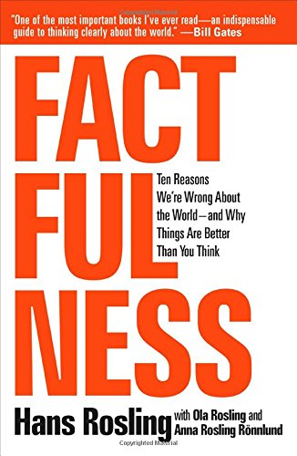 Factfulness: Ten Reasons We're Wrong About the World--and Why Things Are Better Than You Think cover