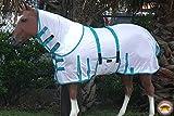 "HILASON 66-84"" Uv Protect Mesh Bug Mosquito Horse"