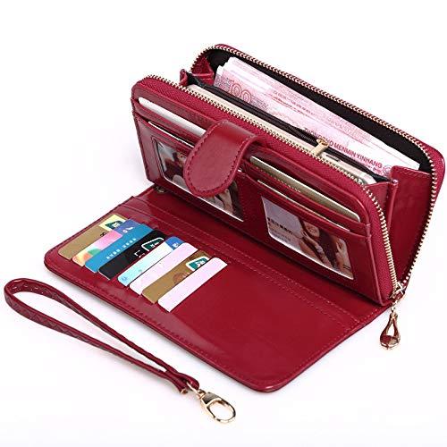 SKUDGEAR Long Bi-Fold Zipper Wallet