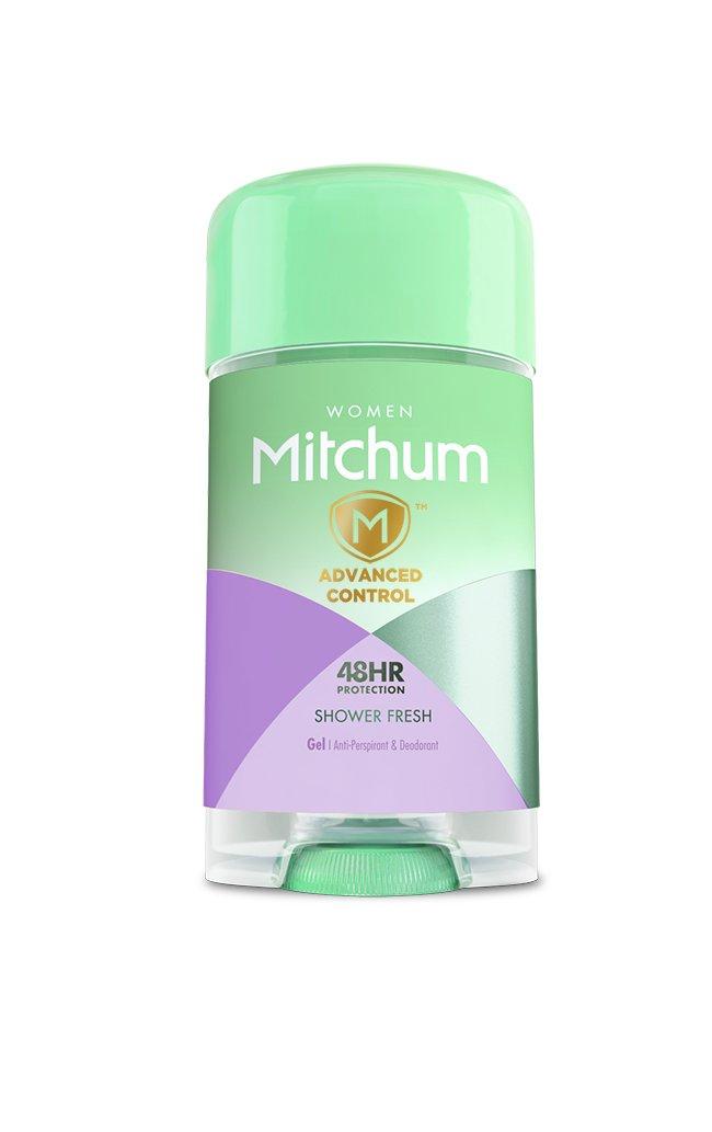 Mitchum Anti-Perspirant & Deodorant for Women, Power Gel, Shower Fresh, 2.25 oz (63 g)