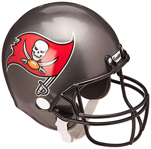 - Franklin Sports NFL Tampa Bay Buccaneers Replica Youth Helmet and Jersey Set, Medium
