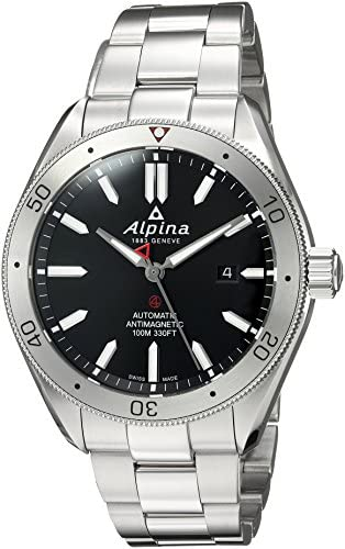 Image result for Alpina Men's Alpiner 4 Swiss-Automatic Watch with Stainless-Steel Strap