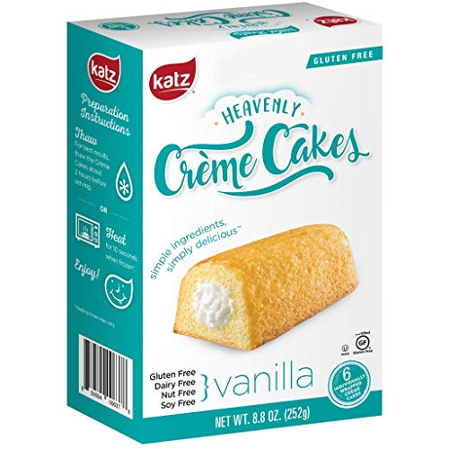 Vanilla Crème Cakes - Case