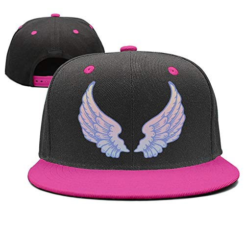 Baby Angel Wings Rainbow Art Trendy Hip-Hop Baseball Cap Adjustable Flat Hats