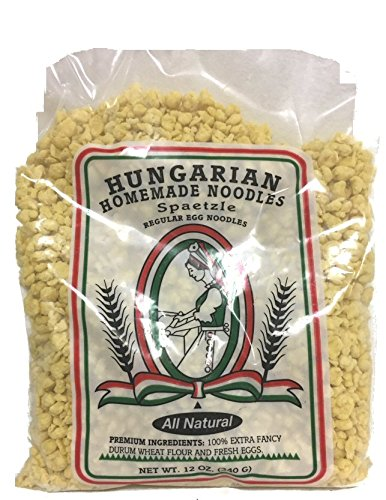 SPAETZLE Egg Noodles by Hungarian Homemade Noodles-3 packages