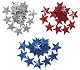 1 Inch US Fabric Glitter Stars Iron on Review and Comparison