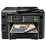 Epson Canada Workforce WF-3640 Wireless and Wi-Fi Direct All-in-One Color Inkjet Printer, Copier, Scanner, 2-Sided Auto Duplex, ADF, Fax