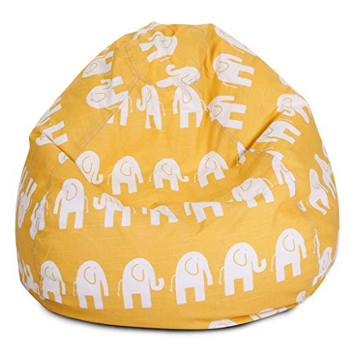 Yellow Ellie Small Bean Bag