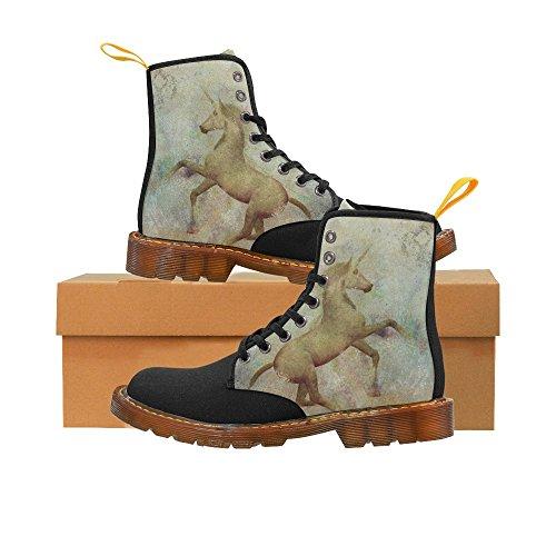 Leinterest Cool Unicorn Martin Botas Zapatos De Moda Para Mujeres