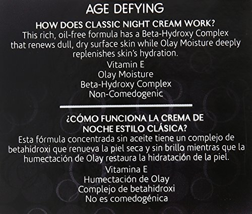 OLAY Age Defying Classic Night Cream 2.0 oz