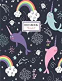 Narwhal Notebook: Cute Narwhals Notebook (Composition Book, Journal) (8.5 x 11 Large)