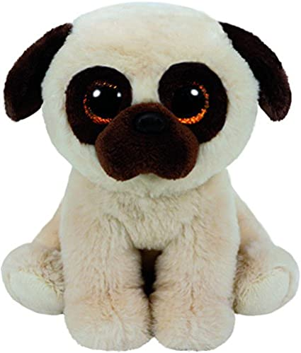 Amazon.com  Ty Rufus Pug - Medium  Toys   Games 6ffdcf029
