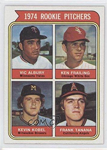 Ken Frailing; Kevin Kobel; Vic Albury; Frank Tanana (Baseball Card) 1974 Topps - [Base] #605
