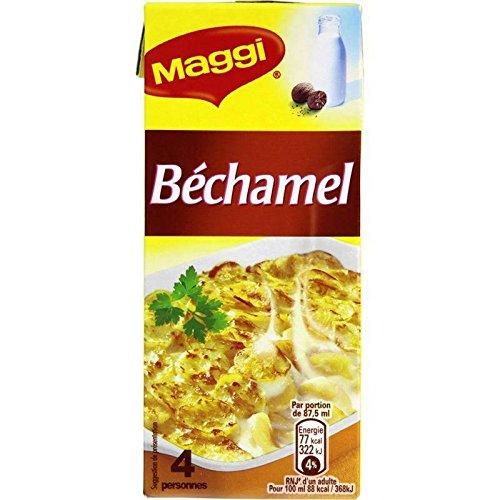 Maggi - Salsa Bechamel Fina 3X350Ml - Sauce Fine Bechamel 3X350Ml - Precio Por Unidad - Entrega Rápida: Amazon.es: Alimentación y bebidas
