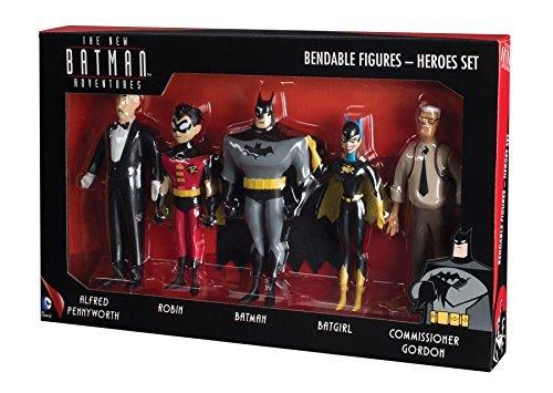 NJ Croce New Batman Adventures Bendable Figure Boxed Set by NJ Croce