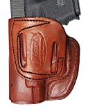 Tagua CDH3-953 Cross Draw Holster, S&W N Frame 4'', Brown, Left Hand