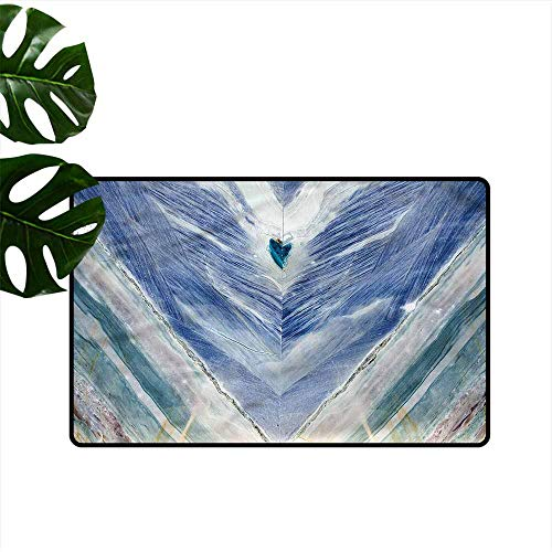 Modern Door mat Marble Tribal Style Onyx Stone Quick and Easy to Clean W35 xL47