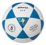 Mikasa FT5 Goal Master Soccer Ball (Blue/White, Size 5)