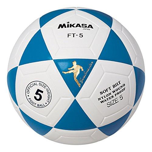 Mikasa FT5 Goal Master Soccer Ball (Blue/White, Size 5)