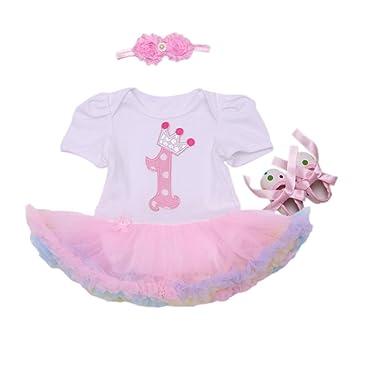 Conjunto para niña, primer cumpleaños (tutú, vestido ...