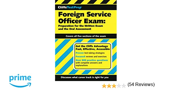 CliffsTestPrep Foreign Service Officer Exam: Preparation for the ...