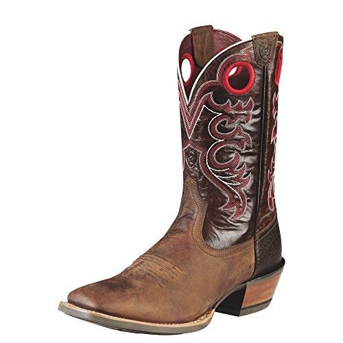 UPC 884849317921, Ariat Men's Crossfire Western Cowboy Boot, Weathered Brown/Dress Brown, 12 2E US