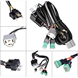 Amazon.com: High & Low Wiring Kits - Headlight Parts & Accessories on headlight relay, blower motor relay, air conditioning relay, drl relay, light relay, turn signal relay, locking relay, horn relay, transmission relay, switch relay, coil relay, power relay, fog lamp relay, fan relay, brake relay, battery relay,