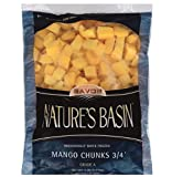 Nature's Basin Frozen Mango Chunks, 5 lb, (Pack of 2)