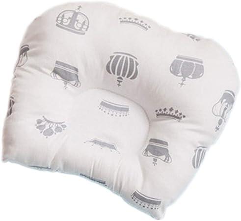 Almohada para cabeza y cuello de algodón orgánico, el mejor reposacabezas para asientos de automóvil, cochecitos para bebés y niños